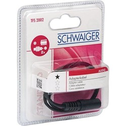 Schwaiger Audio-Adapter...