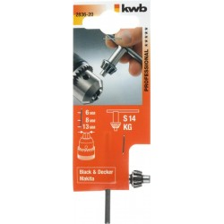 KWB Bohrf. Schlüssel S14-kg...