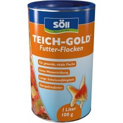 Soell Teich Gold Flocke 1 L...