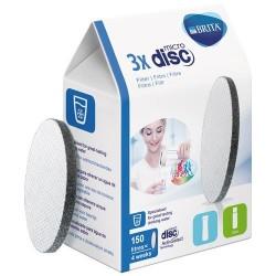 BRITA Fill + Serve Micro Disc schwarz Nachfüllpack 3er 051761