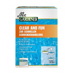 Chemoform Mr.GARDENER Clear and Fun zur Schockbehandlung, 5 Beutel 0511732MG