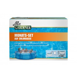 Chemoform Mr.GARDENER Monats-Set Chlor für Pools bis 12000L, 11 Beute 0511768MG