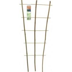 Windhager Blumenstütze 45x20cm Bambus   05723