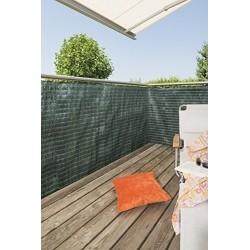 Windhager Sichtschutzmatte Raffia 90x300cm gruen 06537
