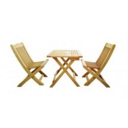 Eigenmarke CASAYA Holz-Kindermöbelset IA Eukalyptus FSC, in teakopti 916672