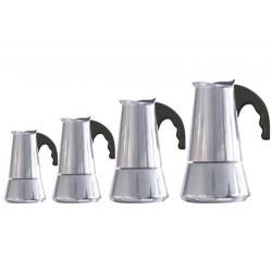 Riess Espressomaschine 6 Tassen Miss Conny edelstahl 1718-130