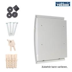 Rottner Sicherheit Harrow Weiss Stahl 460 x 320 x 105 T05746