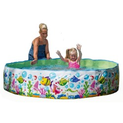 Happy Steilwand-Pool ca. 180x35 Ocean-Design 77728