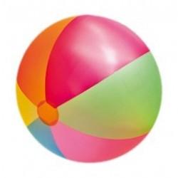 Happy Jumbo Wasserball Regenbogenfarben, ca. 85 cm 77811