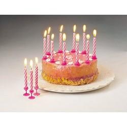 Fackelmann 24 Kerzen + 12...