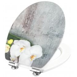 Conmetall Art of Acryl Orchis WC-Sitz Acryl mit Absenkautomatik KSDSC309