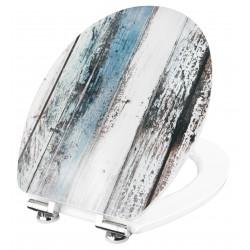 Conmetall Art of Acryl Wooden WC-Sitz Acryl mit Absenkautomatik KSDSC308