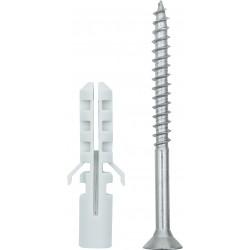 Conmetall Befestigungs-Set Aussenleuchte 5,0x60 mm A2 PZ DY5110012