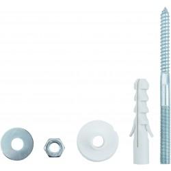 Conmetall Befestigungs-Set Waschbecken A10x140 mm verzinkt DY5110020