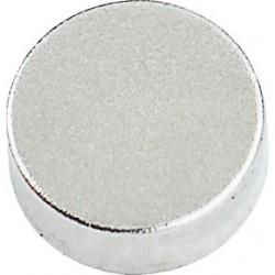 Conmetall Magnet Neodym 5x2 mm vernickelt 0,8Kg rund DY7100001