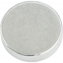 Conmetall Magnet Neodym 20x5 mm vernickelt 11Kg rund DY7100004