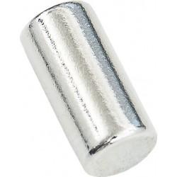 Conmetall Magnet Neodym 5x10 mm vernickelt 0,9Kg Zylin DY7100005
