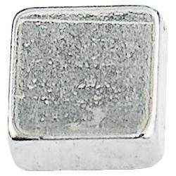Conmetall Magnet Neodym 4x4x2 mm vernickelt 0,45Kg eck DY7100006