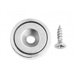 Conmetall Magnet Neodym 20x6x4,5 mm vernickelt 10,5Kg DY7100012