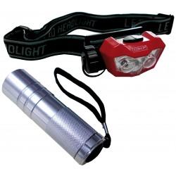 Conmetall Lampenset LED Kopf- u.Taschenl B29840