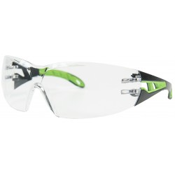 Conmetall Schutzbrille Uvex Pheos 9192 HC/AF Schwarz/Gruen COXT938794
