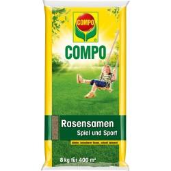 COMPO Compo Rasensamen Spiel und Spo 8,0Kg für 400 m2 20860