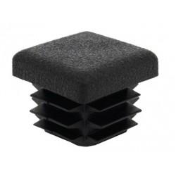 Alberts Lamellenabschlussstopfen 20x20mm schwarz 4st. in sb-box 426712