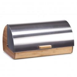 Zeller Brotkasten, Bamboo/Edelstahl 39x25,5x18,5 25344