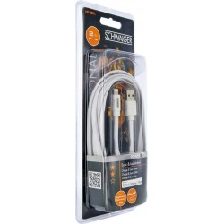 PROFI Apple Lightning Kabel, C48B 2,0 m weiss LKF200L532