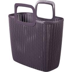 Curver Knit Shopping Bag Lily 42x23,4x29 cm lila 03672-X66-00