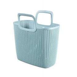 Curver Knit Shopping Bag Lily 42x23,4x29 cm blau 03672-X60-00