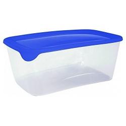 Curver Fresh+Go 3L rechteckig transp.blau 25,7x16,7x10,0cm 00556-139-01