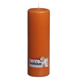 Bolsius Stumpenkerze einz. cello 250/80 mm mango 103616680136