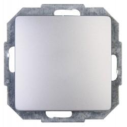 Kopp Aus/Wechselschalter Paris Silber 650620081