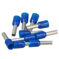 Kopp Aderenhülsen blau 100 Stk. m. Kunststoffkragen 2,5 354411091