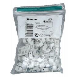 Kopp ISO-Schellen 7-10mm Grau 100St. 345604080