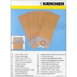 Kärcher Staubtüten-Set (5 Stück) f. K. 2101 6.904-167