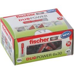 Fischer DUOPOWER Dübel 6x30 (100) 535453