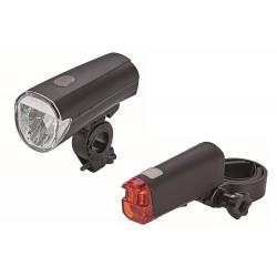 SI LED-Batterieleuchten-Set 30 auf 15 LUX umschaltbar 0625
