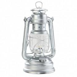 Happy Petroleumlampe 28 cm silber 78362