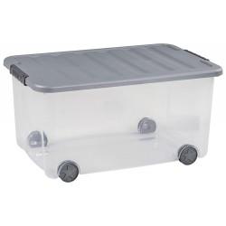 Curver Box Scotti 50L 58,9x39x30 cm transpa. gra 17201725980