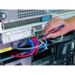 Uhu Edding Kabelmarkerset 8407/4 S schwarz, rot, blau, grün 93740