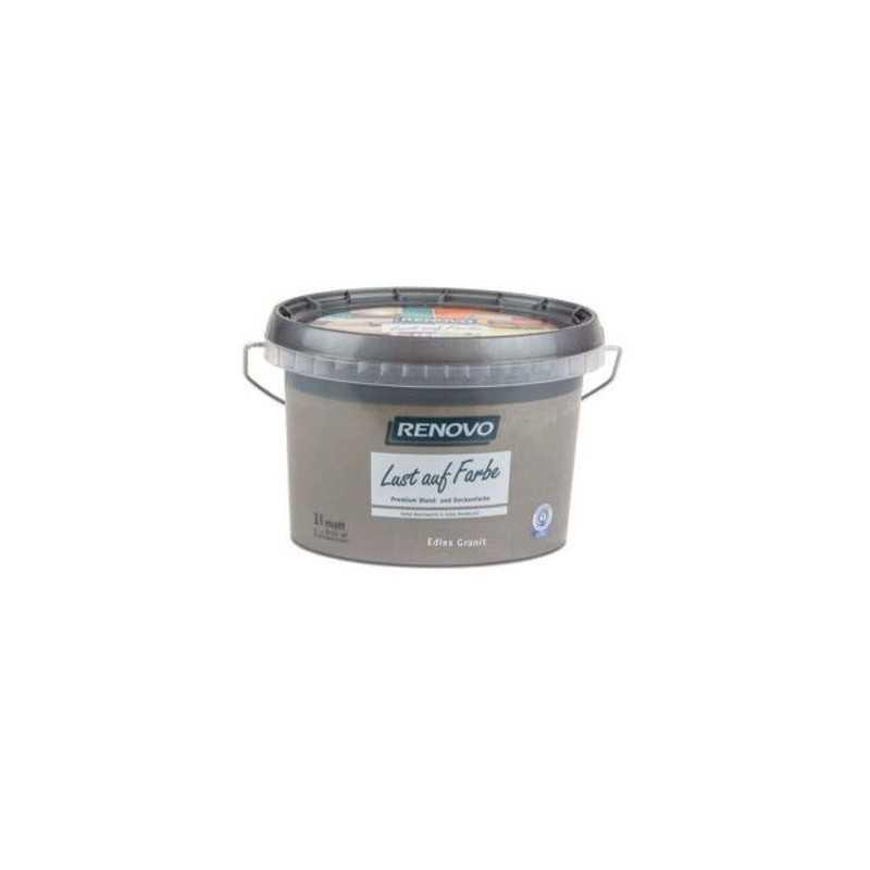 EM RENOVO Lust Auf Farbe Matt 1,0L Edles Granit 7572