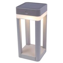 Solarleuchte Table Cube 45cm Touchtimer, IP44 H:45cm P9080-450 SI