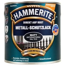 Akzo HAMMERITE Metallschutzlack 250ml anthrazitgrau matt 5272545