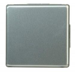 Kopp Kreuzschalter Vision Stahlfarben 643720080