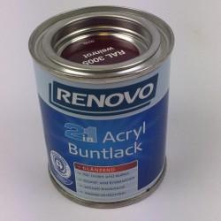 EM EM Acryl Buntl. weinrot...