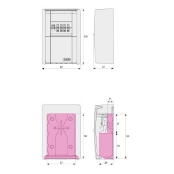 ABUS Schlüsseltresor 787 Farbe silber 0034501