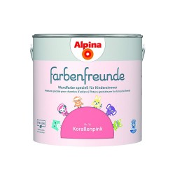 Glemadur Alpina Farbenfreunde 2,5L Korallenpink 016820902