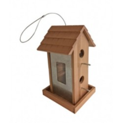 Windhager Vogelfuttersäule Country 38x19x17,5 cm Holz 07013